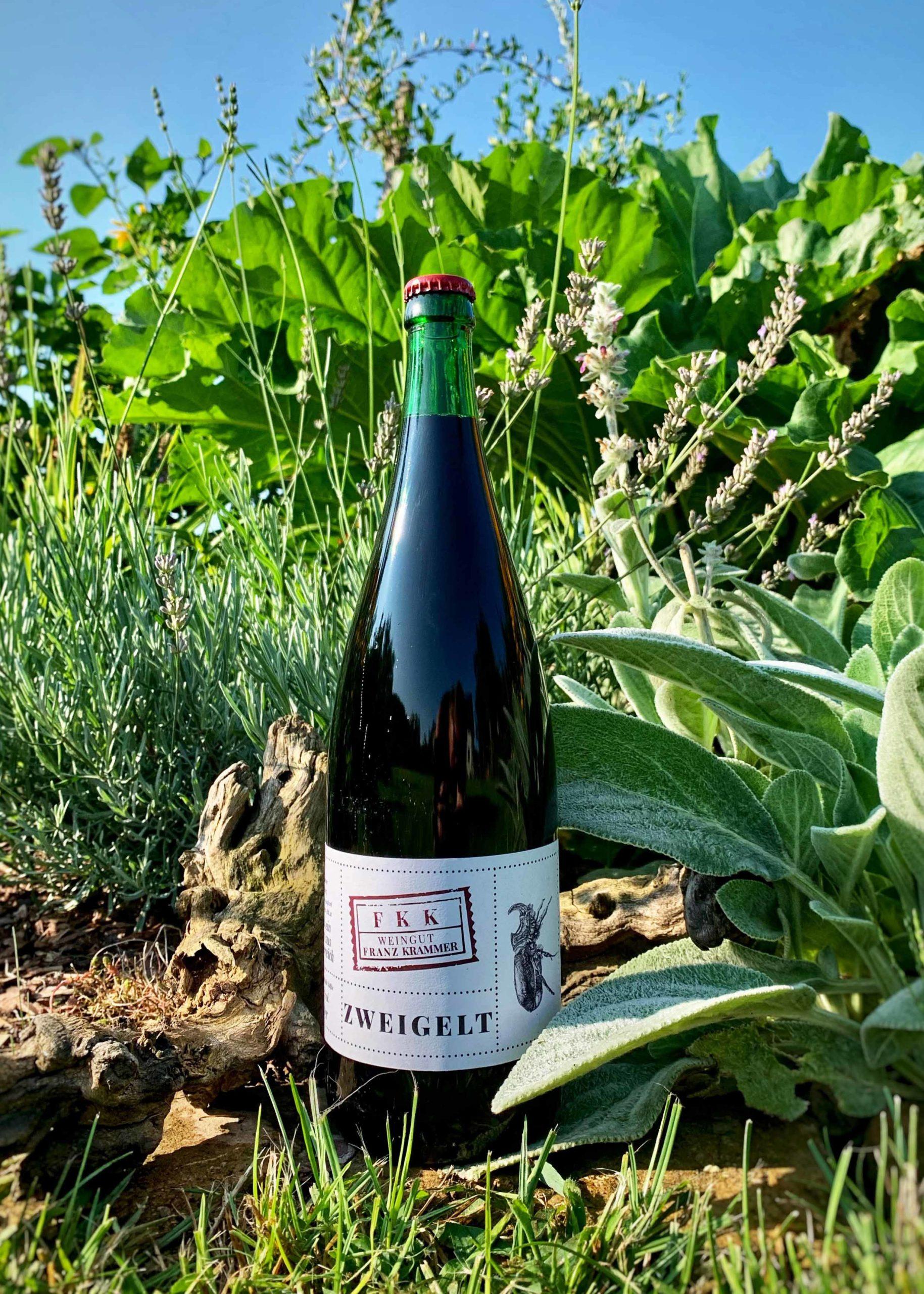Flasche Landwein Zweigelt 2020